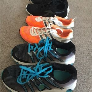 3 Pairs Athletic Shoes